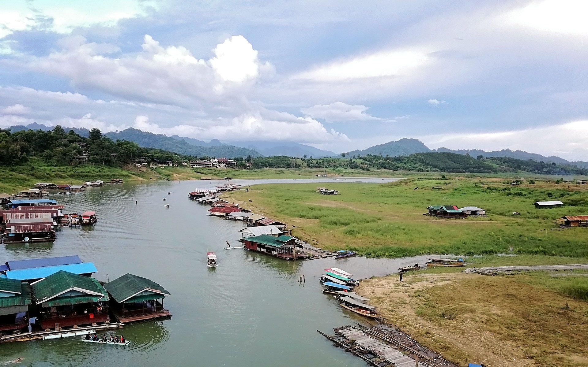 Sangklaburi Thailand - สังขละบุรี ประเทศไทย
