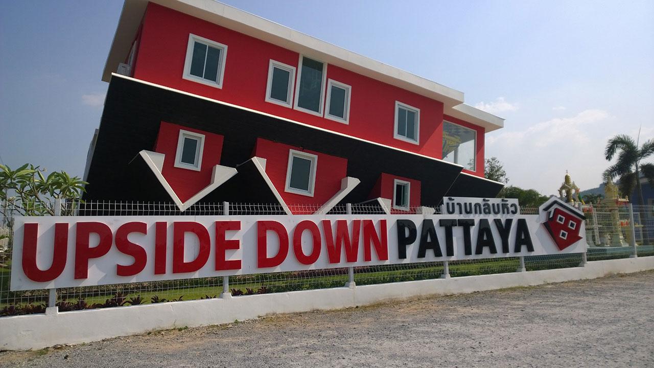 Upside down Pattaya - บ้านกลับหัว พัทยา